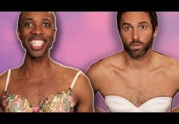 Buzzfeed Sketch:  Guys Wear A Bra For A Week