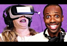 Buzzfeed Sketch: People Try Virtual Reality Porn